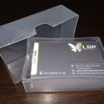 boîte Cartes de visite
